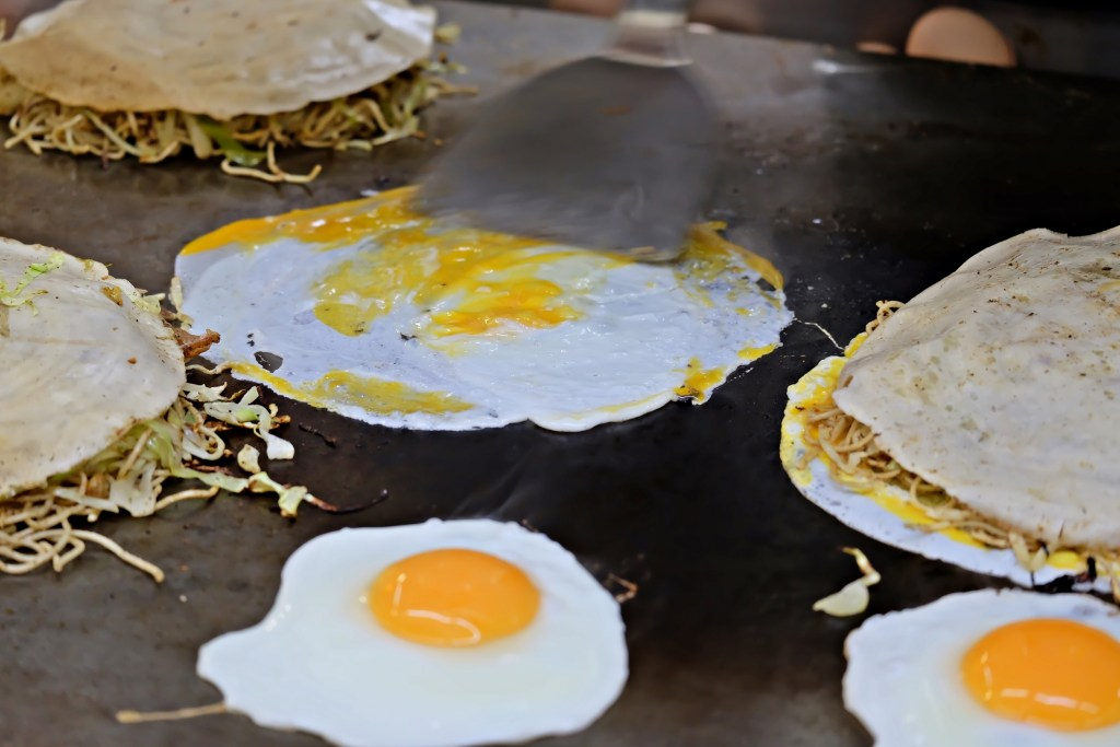 Hiroshima Okonomimura Okonomiyaki and Eggs WS