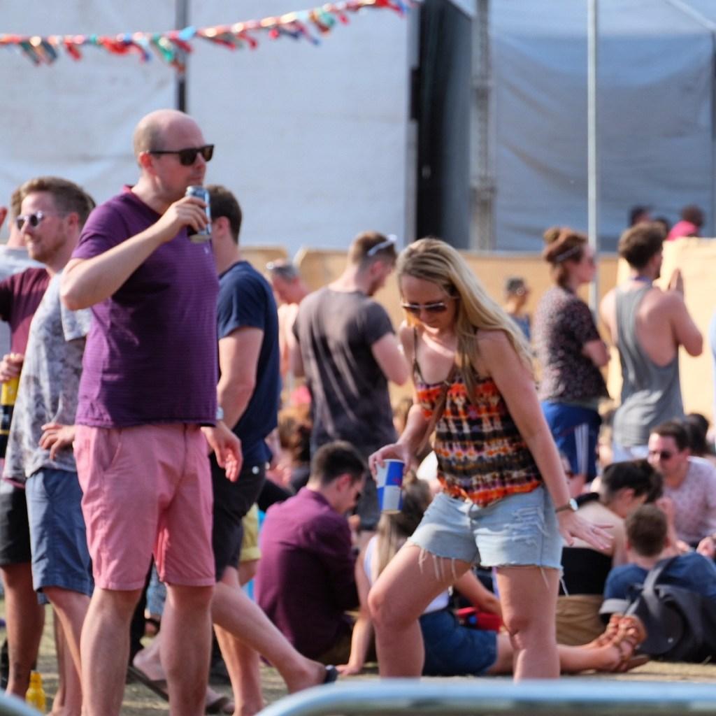 Dancing at Citadel Music Festival