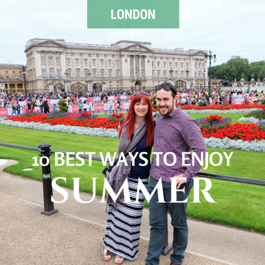 Never Ending Honeymoon | Best things to do in London in summer