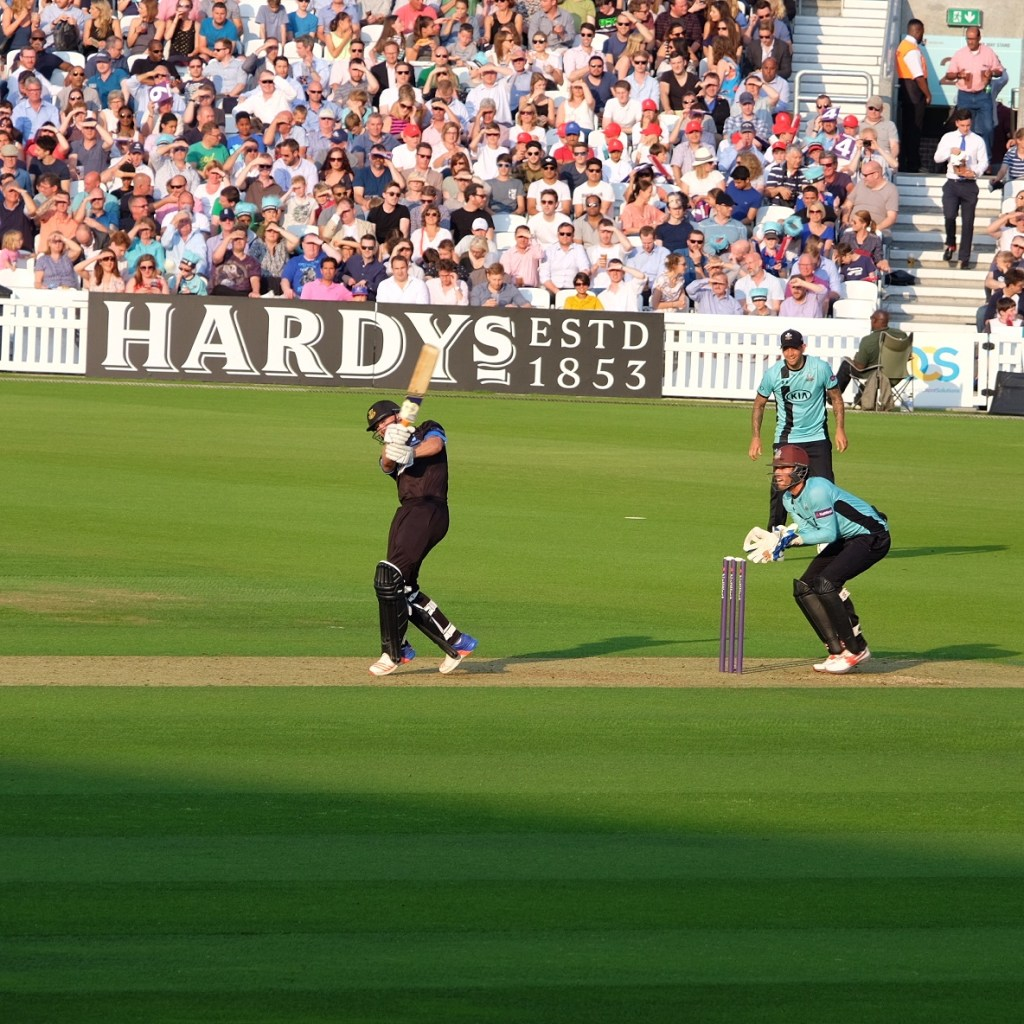 Surrey V Sussex at The Oval