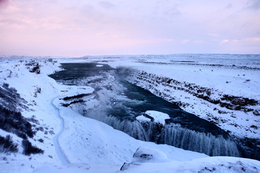 Gulfoss in December 2016