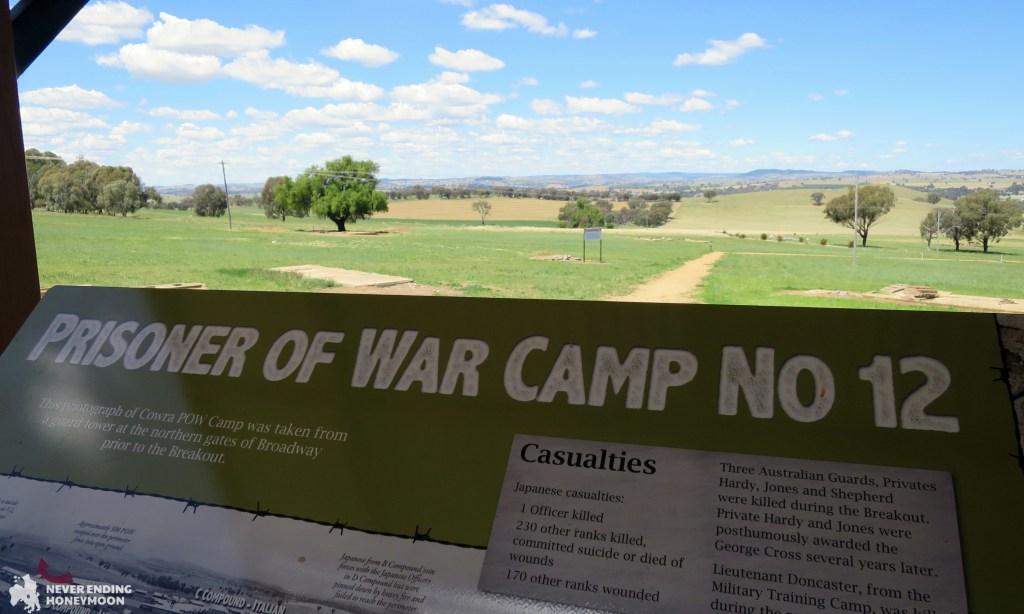 NSW road trip Cowra prisoner of war