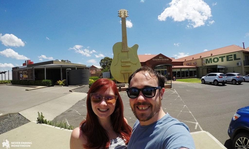 NSW road trip Tamworth Golden Guitar