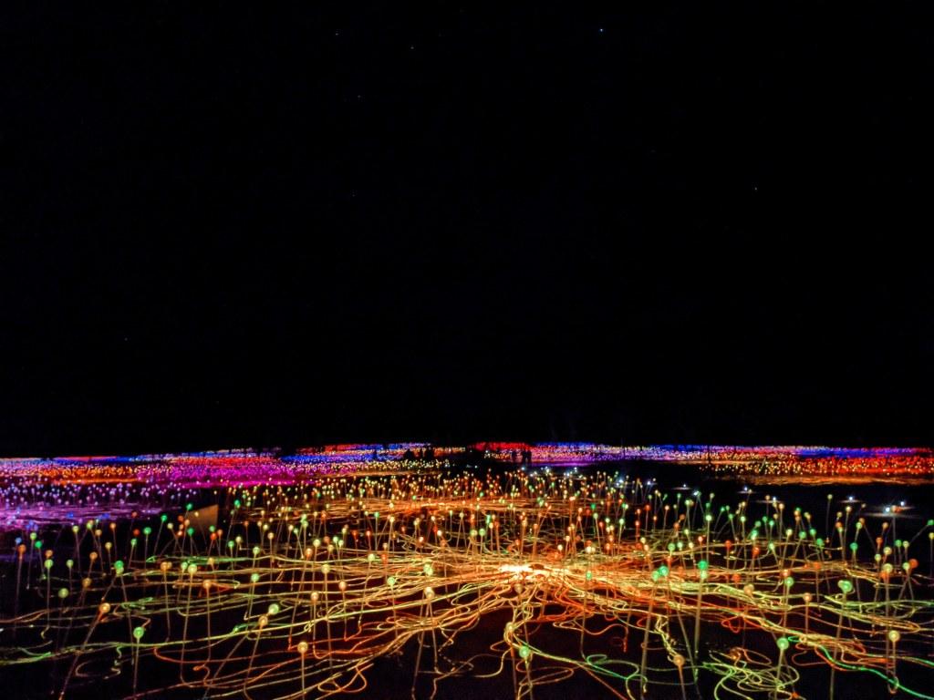 NT holiday Uluru Field of Lights