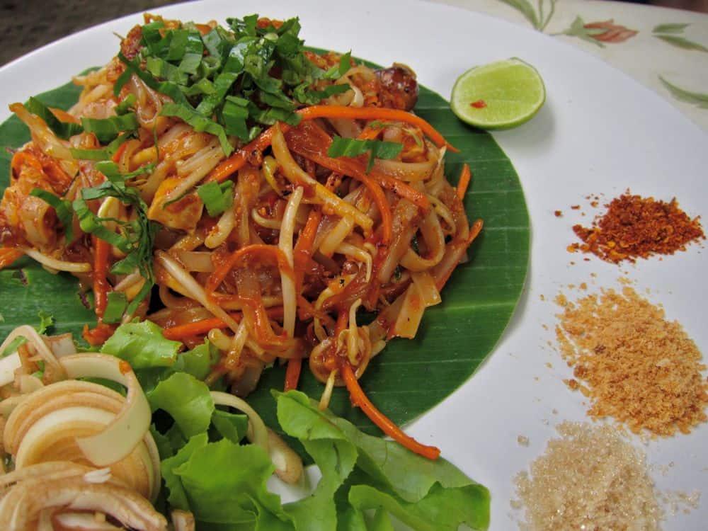 Pad Thai Rod Tum Yum at Pun Pun