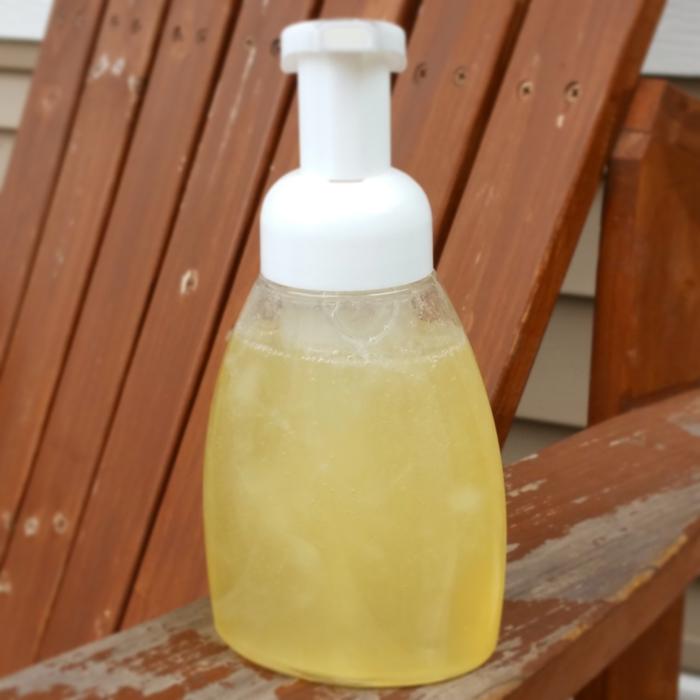 DIY Lavender Lemon Hand Soap