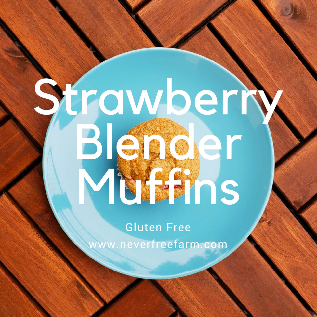 Strawberry Blender Muffins