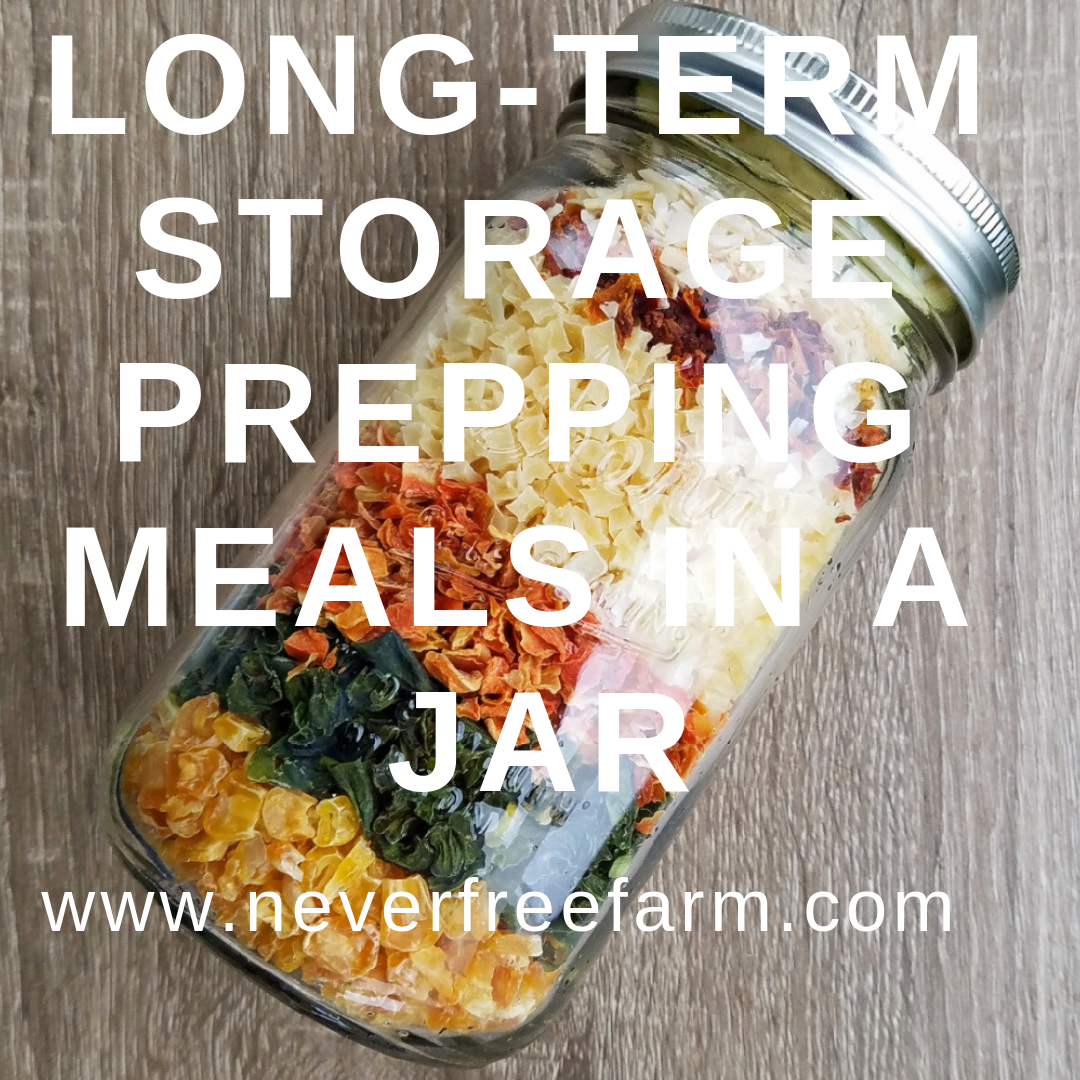 Long Term Storage Prepping Meals In A Jar