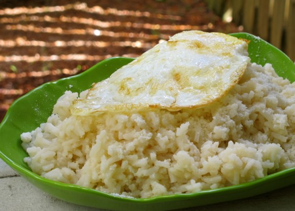 Trail Eats: Fried Egg over Savory Rice