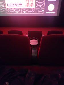 mørkt bilde fra en kinosal