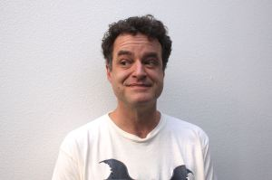 Matt Besser, not thinking.