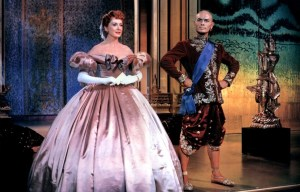 Yul Brynner and Deborah Kerr in The King and I