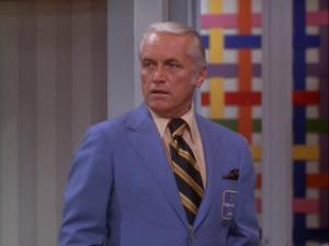 Ted Baxter, played by Ted Knight on The Mary Tyler Moore Show