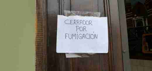Closed for fumigation
