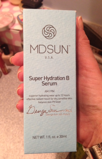 MDSun Super Hydration B Serum box neversaydiebeauty.com @redAllison