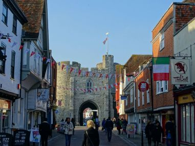 Old Town Gate, Canterbury