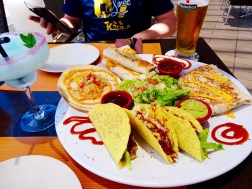Siam Mall, 'Parent' Lunch at Tex-Mex