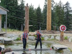 Lumberjack-Show