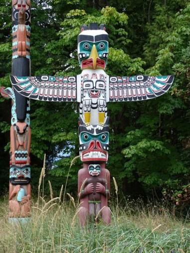 Totem Poles, Stanley Park