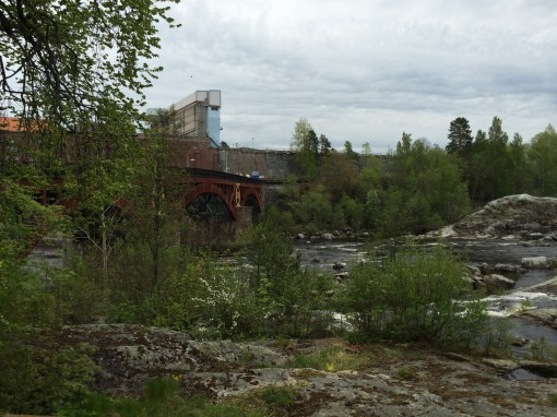 Älvkarleby Waterfall