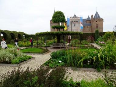 Muiderslot - Herb Garden
