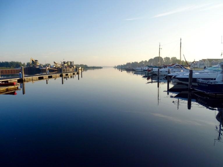 Old Harbour of Huizen