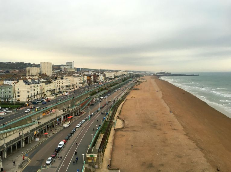 View of Brighton from Brighton Wheel