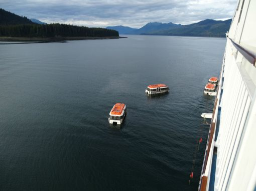 Tender Boats to Icy Strait Point
