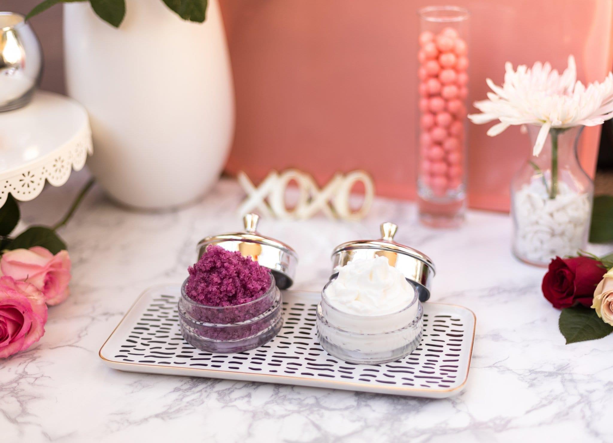 Sweet Rose Sugar & Salt Scrub DIY (It\'s super easy) | Never Skip ...