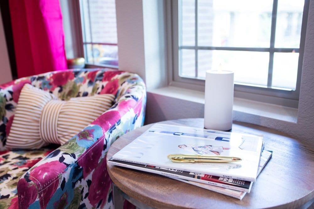 Office Reveal   super cute office   office decor ideas   girlboss office   womens office