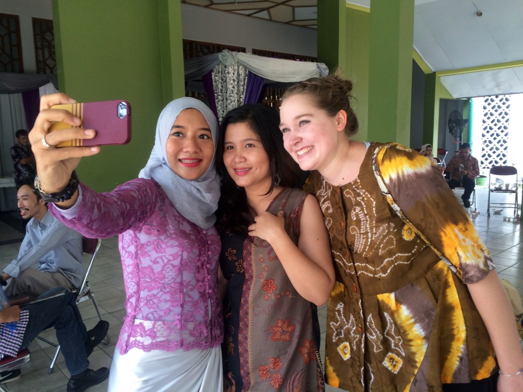 Puspa, Arey and I