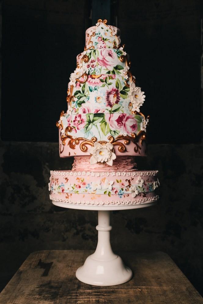 Rapunzel Wedding Cake