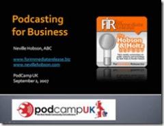 podcastingforbusiness