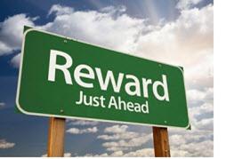 Reward Just Ahead