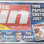 I bought a copy of the first edition of the Sun on Sunday