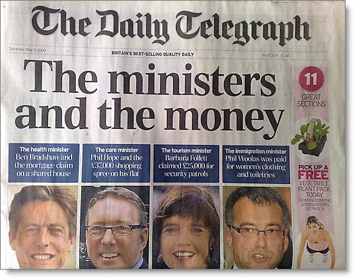 telegraph-mpexpenses-frontpage090509
