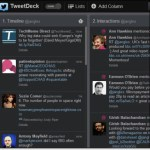 Looking at TweetDeck anew
