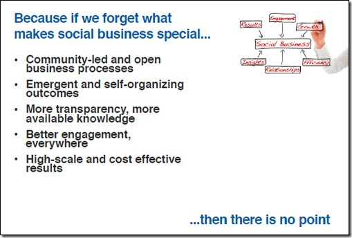 What makes social business special...