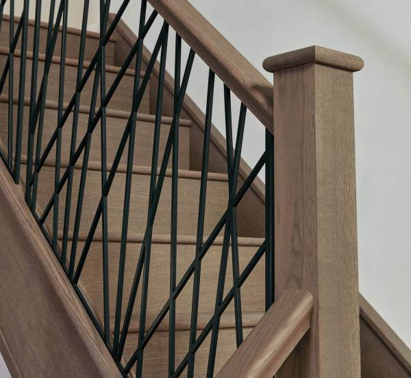 Iron Staircase Introducing Opus Black