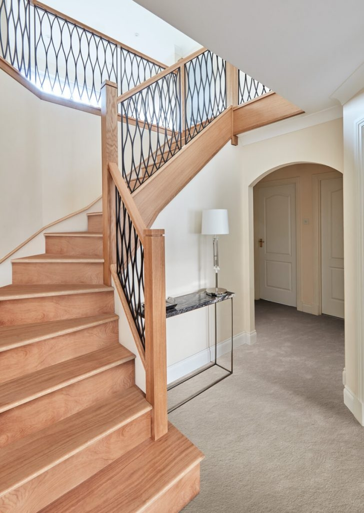 Staircase Renovations Stairs Banisters Neville Johnson | Modern Steel Staircase Design | Small House | Beautiful | Handrail | Solid Steel | Gallery