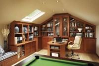 Traditional oak study - Neville Johnson