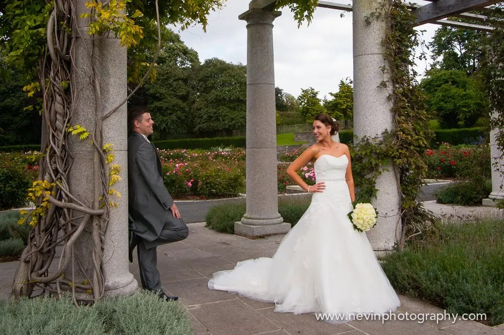 Bride & Groom photoshoot at Memorial Gardens Park,Dublin