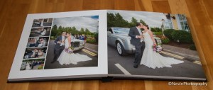 Packages including Photography and Video-sample album layout