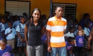 Sadiki Tyson and Chloe Williams