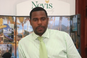 Nevis Tourism Authority's Sales and Marketing Director Mr. Devon Liburd