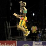 Andre Russell's astounding knock of 29 off six balls included four sixes and a four © Getty Images