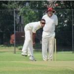 2 Akheam bowling on July 7