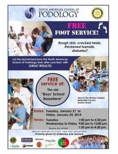 Foot Care Flyer - Jan 2014