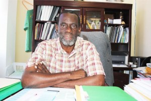 Mr Alphonso Bridgewater, General Manager, Solid Waste Management Corporation - SWMC (St. Kitts).