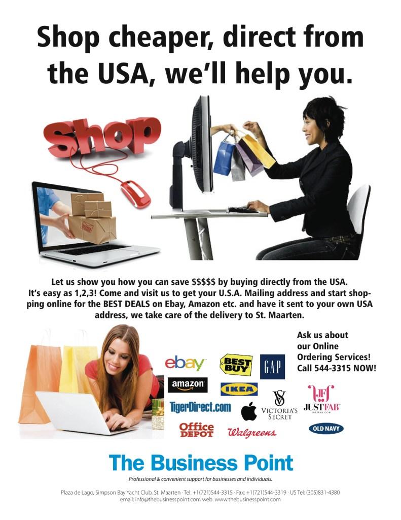 shopping flyer
